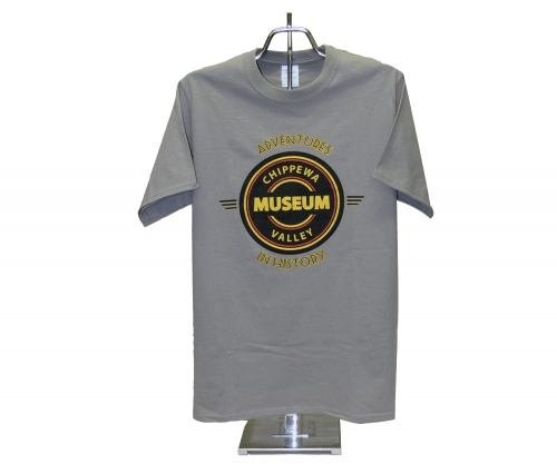 CHIPPEWA VALLEY MUSEUM LOGO T-SHIRT, YOUTH