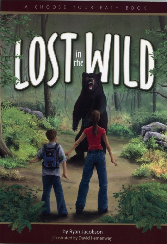 Lost in the Wild: A Choose Your Own Path Book