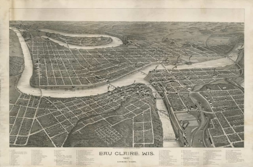 Bird's Eye View Print